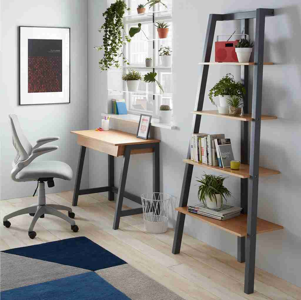 Cuthbert desk by John Lewis in a home office